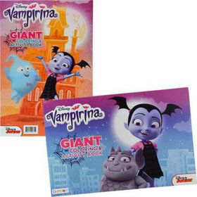 set de coloriage vampirina