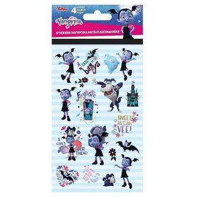 4 planches de stickets vampirina