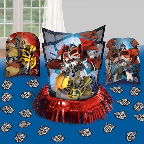 3 centres de table Transformers