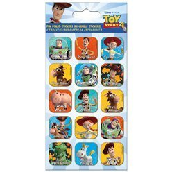 4 planches de stickers toy story