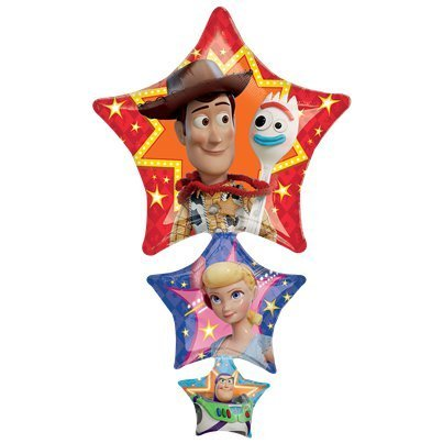 bouquet 3 ballons toy story