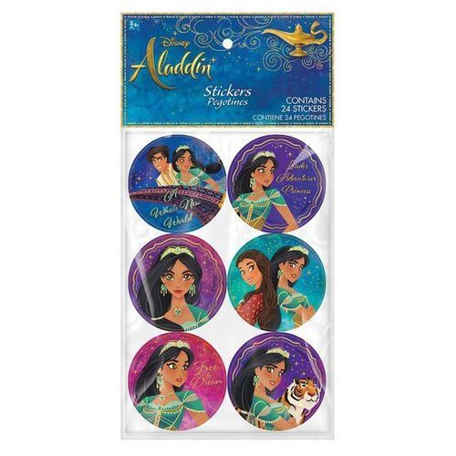 24 stickers Aladdin