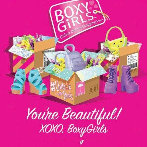 16 serviettes boxy girl