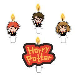 4 bougies Harry Potter