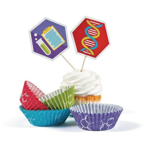 50 cupcakes science